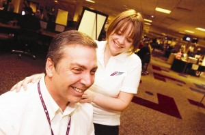 Reward Staff with an Energising Massage